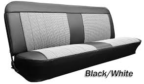 Dodge Truck Bench Seat 1967 1968 C10 Chevy U0026 Gmc Truck Houndstooth Bench Seat Cover Ebay