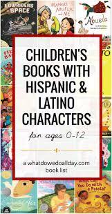 children u0027s books with latino and hispanic characters