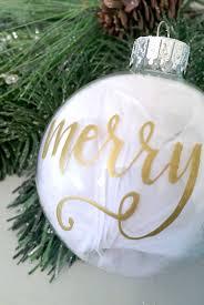 Farm Christmas Ornaments Easy Diy Hand Lettered Christmas Ornament Amy Latta Creations
