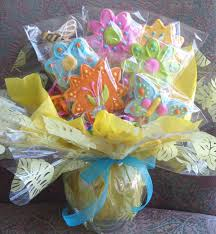 Chocolate Molds Baby Shower Spring Flower Cookie Bouquet Flower Decorated Cookies Cookie