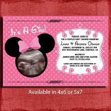minnie mouse baby shower ideas baby shower invitations mesmerizing minnie mouse baby shower
