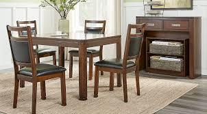 wood dining room sets cherry espresso mahogany brown etc