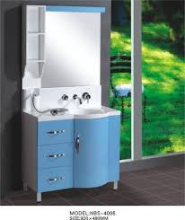 48 Double Sink Bathroom Vanity by Light Blue Round Type Hanging Bathroom Vanity Double Sink 92 X 48