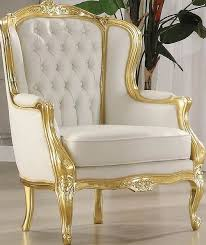 Gold Accent Chair Unique White And Gold Accent Chair For Your Modern Furniture With