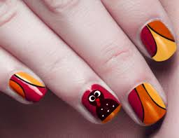 creative thanksgiving nail design ideas