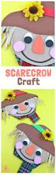 cute foam scarecrow craft kids craft room