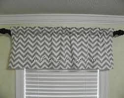 grey chevron curtain etsy