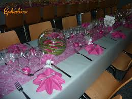 dã coration de table de mariage decoration table mariage blanc fushia meilleure source d