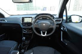 peugeot 2008 interior 2017 new peugeot 2008 allure 2016 review pictures auto express