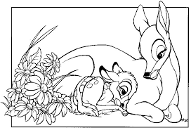 fresh bambi coloring pages 88 coloring pages