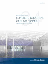 tr34 concrete industrial grou concrete society wear
