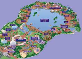 disney epcot map disney s epcot center information