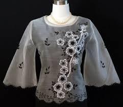 kimona dress black silver kimona 5262 barongs r us