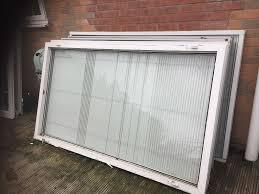 upvc window panels built in blinds x 4 in west derby