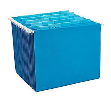 Decorative Hanging File Folders Staples Colored Hanging File Folders 5 Tab Letter Blue 25 Box