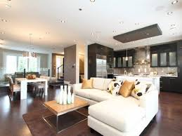 Living Room Ideas With Black Leather Sofa Open Concept Living Room And Dining Room Stainless Rod Kitchen