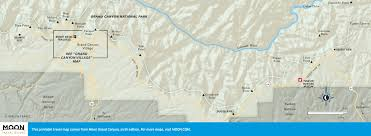 Map Grand Canyon Printable Travel Maps Of Arizona Moon Travel Guides