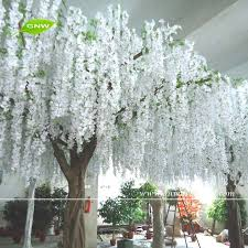 Wedding Arch For Sale Gnw Bls080 Artificial White Flower Tree Decorative Wisteria