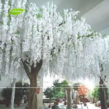 13ft big wholesale white wedding wistaria trees for wedding