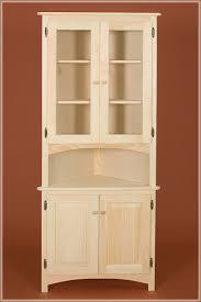 Corner Cabinets Dining Room Furniture Image Detail For Glass Door Corner Hutch Dining Room Amish