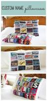 best 25 personalized pillow cases ideas on pinterest these personalized pillow cases with names in photos of signs or sign letters make a fun