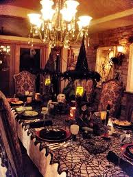 Halloween Decoration Halloween A Haunted Dinner Party Halloween Food Table Decor