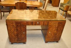 glass table top ideas brown accent paintted oak wood office desk with glass table top and