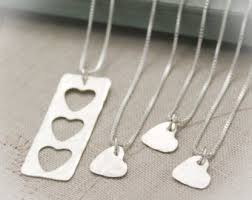 Sterling Silver Personalized Necklaces Personalized And Custom Jewelry Etsy