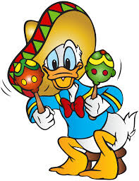 donald duck mexican free png clip art image gallery
