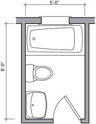 Small Bathroom Layout Plan 5x8 Bathroom Floor Plan Hungrylikekevin Com