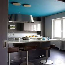 cuisine gris et bleu decoration cuisine bleu et jaune gris newsindo co