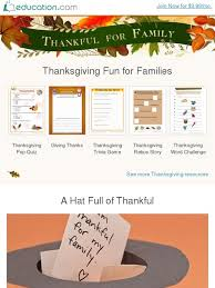 education thankful for family educational for the whole