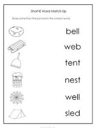 short e sound worksheet short e sound short vowels and