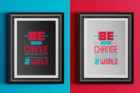 quote gandhi change world monique monchelle u2014 be the change