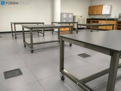 Laboratory Work Benches U Shaped Esd Workbench Project Formaspace These Workbenches