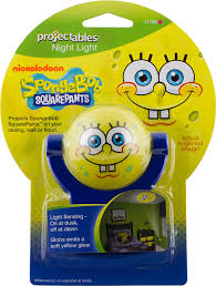 night light that projects on ceiling nickelodeon projectables spongebob squarepants led plug in night