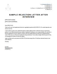 free letters templates rejection letter template free download create edit fill and print
