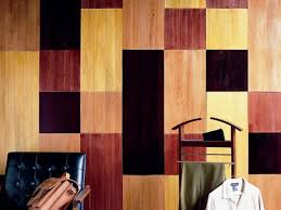 stained wood panels how to add wood paneling to your walls with balsa wood hgtv
