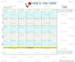 monthly workout calendar template 28 images workout calendar