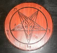 church of satan sigil of baphomet plaque pyrography free church of satan sigil of baphomet plaque pyrography free shipping inside the united states