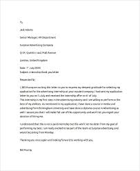 internship thank you letter if you internship levine