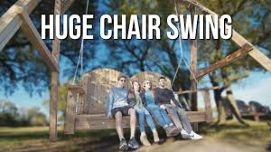 Biggest Chair In The World The Biggest Chair Swing In The World Youtube