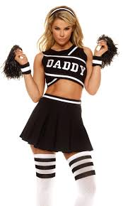 school girl costumes daddys girl 4pc costume