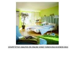 online funiture and home decor in india 2015 competitive analysis