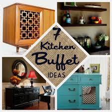 nine red 7 kitchen buffet ideas