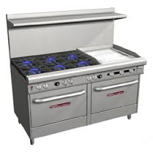 Cooktop With Griddle And Grill Southbend Gas Ranges Commercial Ranges Zesco Com