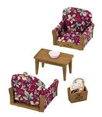 Epoch Sylvanian Families Sylvanian Family Living Room Arm Chair - Sylvanian families luxury living room set