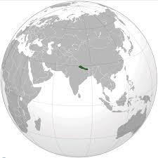 Nepal On Map 100 Nepal Map And Flag Nepal Stock Illustrations U2013 1