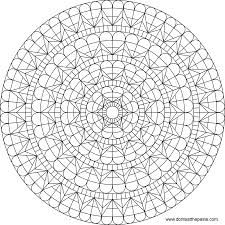 coloring pages of a heart don u0027t eat the paste heart window mandala to color