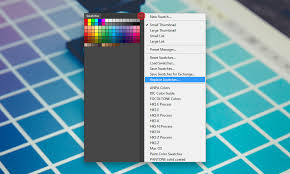 color swatches how to clear color swatches in photoshop illustrator